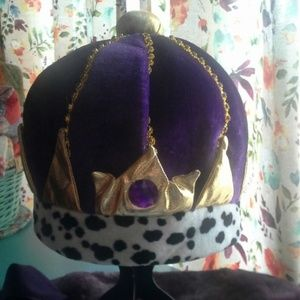 Soft One Size Fits Most Royal Crown